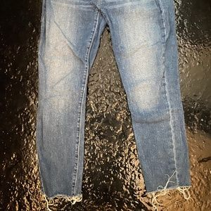 Frayed Bottom Jeans